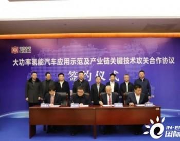 内蒙古乌海签署大功率<em>氢能</em>汽车应用<em>示范</em>及产业链关键技术攻关合作<em>项目</em>
