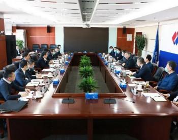 中国能建&中国电建高层会晤,推进高质量合作
