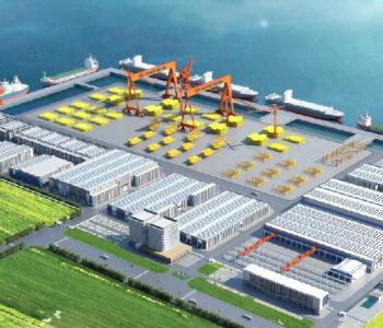 我国首个海洋<em>油气生产装备</em>智能制造基地建设全速冲刺