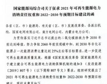 2021-2030年各省风电、光伏等<em>消纳</em>责任权重来了!