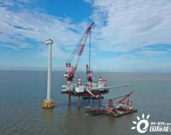 海上风电新纪录!24小时安装一台机组!