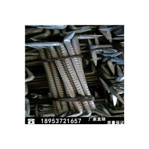 供应螺纹钢扒钉 圆钢扒钉质量保证 量大从优