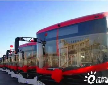 -40℃启动,内蒙古首批氢燃料电池公交车在乌海投入使用