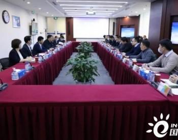 中广核新能源总经理李亦伦会见远景能源高级副总裁田庆军