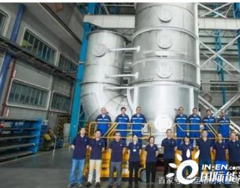 中国制造的大型脱硫洗涤塔成功交付美国船东冷链果蔬Dole公司