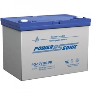 法国POWER-SONIC蓄电池PG-12V55AH