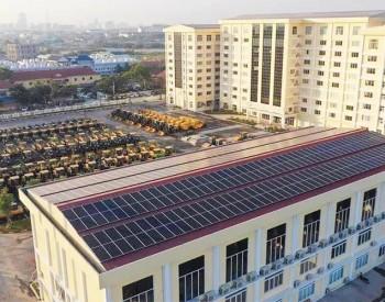 柬埔寨新能源发展潜力无限,国家交通部装上708kW光伏电站!