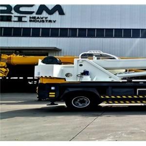 单梁5节臂起重机 工程建筑吊车 6吨自制小型汽车吊 生产厂家