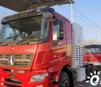 内蒙古首台100KW级氢燃料电池环卫重卡车正式下线