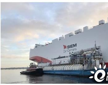 全球首艘智能LNG加注船新加坡正式投入商业运营