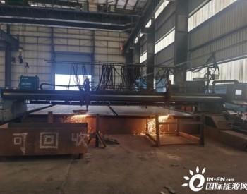 越南嘉莱PTMN 50兆瓦风电项目塔筒制作顺利开工