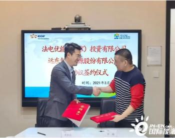 远东股份与法电优能(中国)投资有限公司签署战略合作协议