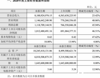 横店东磁预计2020年实现营收81亿元 同比增长23.42