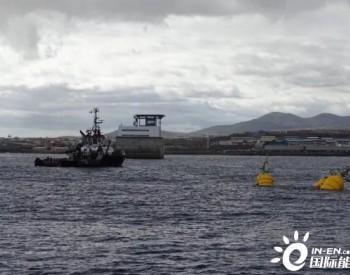 丹麦Wavepiston公司在西班牙试验场安装波浪能装置