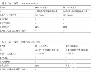 中标丨龙源电力集团股份有限公司风电机组叶片维修长协公开招标中标候选人公示