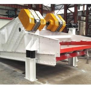 厂家供应 GPX系列高频脱水筛价格 煤泥筛箱式激振器可定制