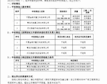 中标丨中广核河南兰考广兴200MW(34套)、广盛70MW(21套)项目风电场塔筒采购中标候选人公示