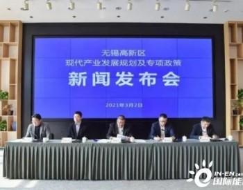 """江苏无锡高新区""""十四五""""规划:<em>氢燃料电池产业</em>规模100亿元"""
