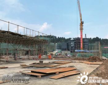 四川绵阳工业固废处置中心项目主体完工