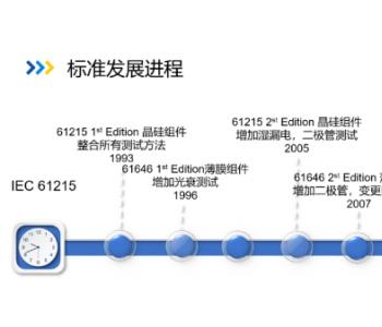 """洞察光伏组件未来设计发展趋势-鉴衡全面解读""""2021正式版 IEC 61215系列标准"""""""