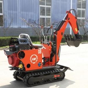 多功能挖掘机 农用微型挖掘机挖土机 迷你勾机园林工程破碎