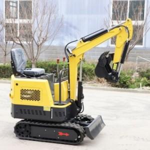 厂家生产15型小型农用果园挖掘机 全新微型建筑工程挖沟挖土机