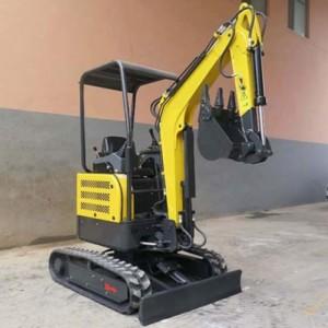 厂家生产直销21多功能小挖机一机多用