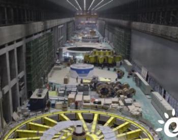 白鹤滩水电站右岸排水配电系统施工快速推进