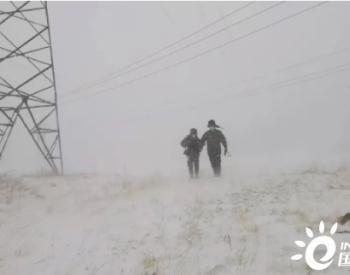 狂风暴雪突袭!供电公司紧急行动