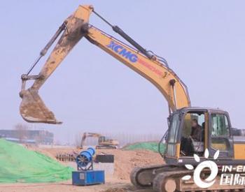 山东潍坊潍城区西部开建一座污水处理厂
