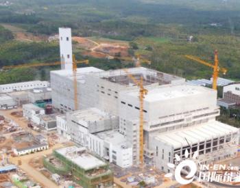 中国能建总承包建设琼海垃圾电站扩建项目2号锅炉点火冲管