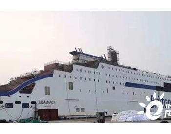 威海金陵完成W0269船<em>LNG燃料</em>罐安装工程