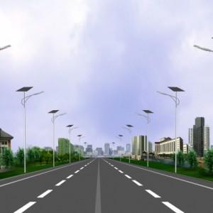 山西晋恒园林景观工程   市政路灯