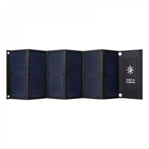 haogood HS40快充QC3.0太阳能充电折叠包