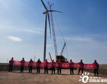 中广核黑龙江明水100MW平价风电项目首台<em>风机吊装</em>成功