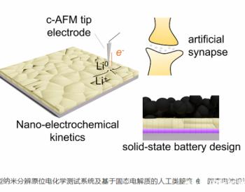 深圳先进院固态电池及类脑人工突触研究获进展