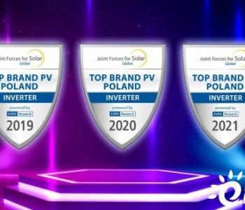 """稳健发展筑根基,市场领跑展实力!首航连续三年获波兰""""TOP Brand Inverter """""""