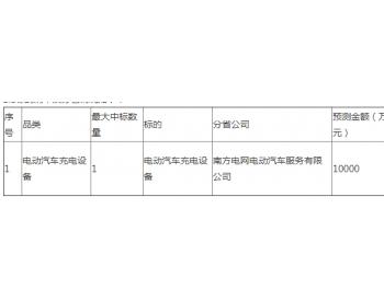 招标 | 南网电动汽车2021年电动汽车非车载充电机充电模块供应商框架招告