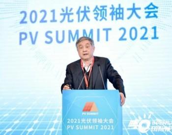 """王勃华:""""十四五""""中国光伏产业发展展望"""