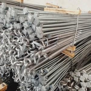 专业生产出口型锻打件 镀锌拉杆 锚杆 电力金具 花兰螺栓螺母