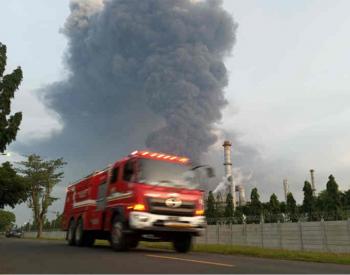 印尼国家石油公司一炼油厂着火 已致<em>4人受伤</em>