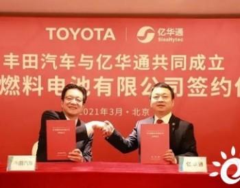 总投80亿日元!<em>亿华通</em>与丰田设燃料电池合资公司