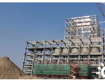 上海电建承建孟加拉巴瑞萨燃煤电站项目主厂房钢结构到顶