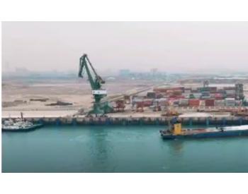 江苏福港物流圆满完成风电叶片设备吊装接卸项目