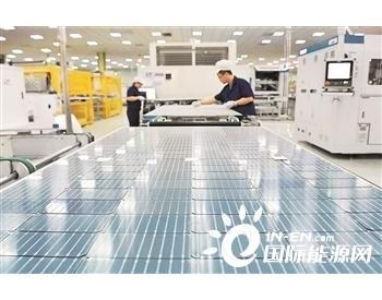 中国光伏产业为全球市场供应了超过七成的组件