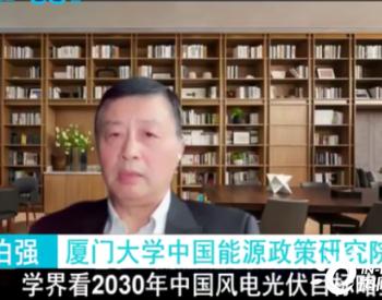 林伯强:学界看2030年中国风电光伏目标略显保守