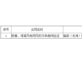中标丨<em>华润新能源</em>(北票)风能有限公司存珠风电场运达WD93-1.5MW、WD121-2.0MW机组功率特性测试中标候选人公示