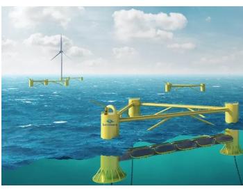 全新波浪能技术无缝对接浮式风电!海上风电+潮汐能成为可能!