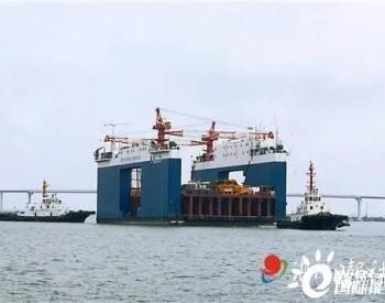 中国海上风电作业船,奔赴越南!