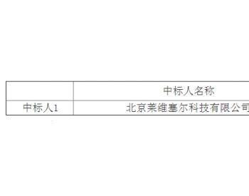 中标丨华润电力投资有限公司华南分公司2021-2022年度测风数据相关服务采购中标结果公告
